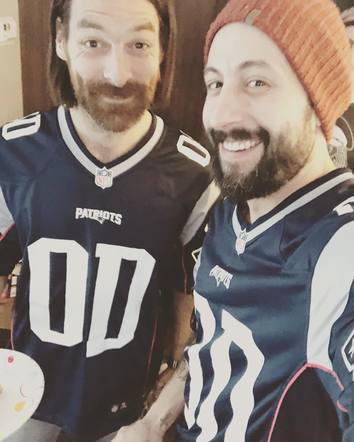Old Dominion cheered on the Patriots from afar!