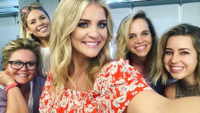 Lauren Alaina and her glam squad are a family & they're always in her corner.