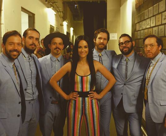 Kacey Musgraves and her band looked dapper as ever at the O2 Arena!