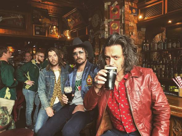 Midland made sure to embrace the culture & grab a Guinness in Dublin before playing their show!