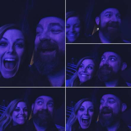 Kristian Bush and Lindsay Ell are longtime collaborators & got to see each other all the way across the pond!