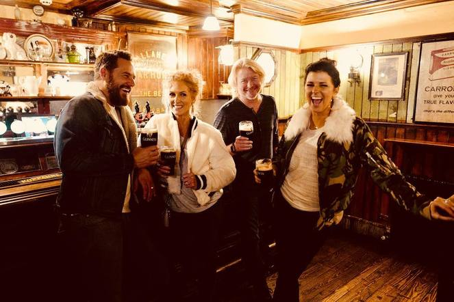 Little Big Town saw Midland's Guinness outing and had to try one for themselves!