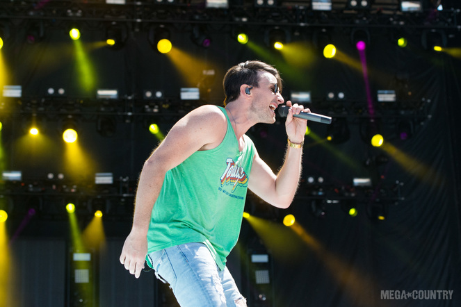 Russell Dickerson performs during the 2018 Tortuga Music Festival on April 6, 2018 in Fort Lauderdale, Florida.