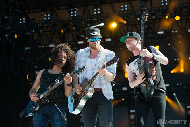 Chase Rice performs during the 2018 Tortuga Music Festival on April 6, 2018 in Fort Lauderdale, Florida.