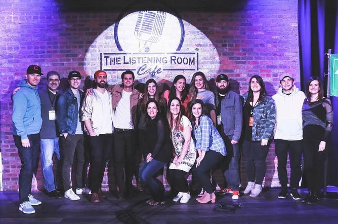 Kassi Ashton, Steve Moakler, Luke Laird, Hillary Lindsey, Lori McKenna, and the rest of the Creative Nation family hosted an amazing round at the Listening Room.