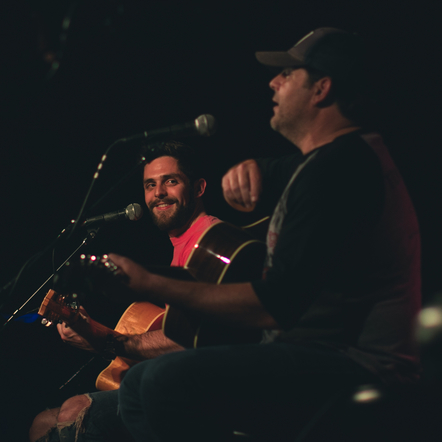 Thomas Rhett joined his dad on-stage at his Tin Pan South round at 3rd and Lindsley!