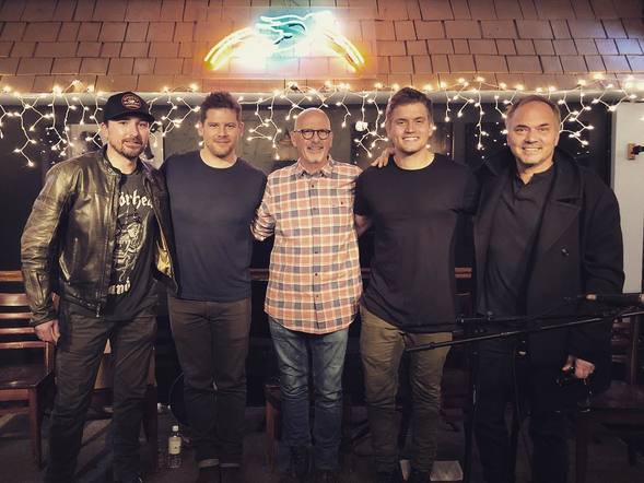 Levi Hummon had the honor of playing the Bluebird Café during Tin Pan South!