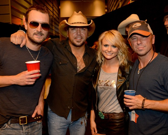 Photo of Eric Church & his friend  Jason Aldean  - United States