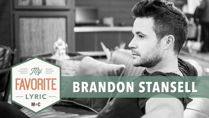 "Brandon Stansell Shares His Favorite Lyric From ""Hometown"""