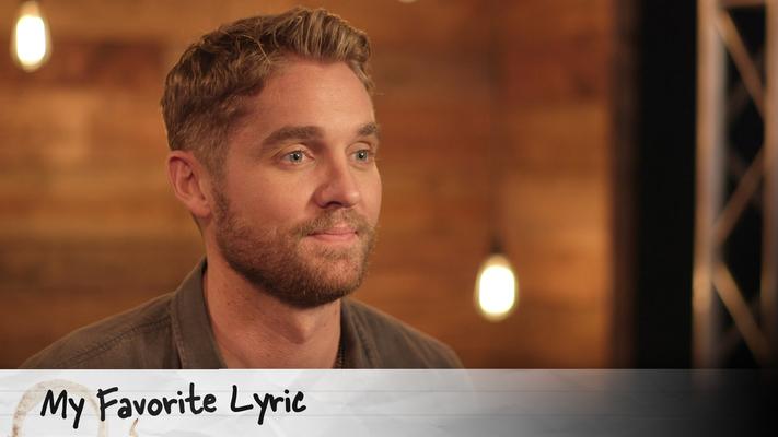 Learn why Brett Young's favorite lyric is a heartbreaker!