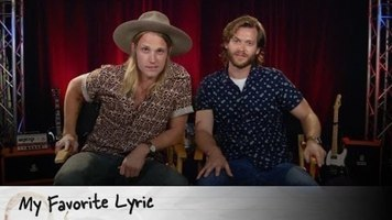 The guys of Jamestown Revival share their favorite lyric with us!